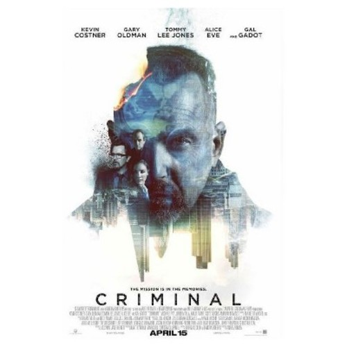 CRIMINAL (Blu-ray/DVD + Digital)