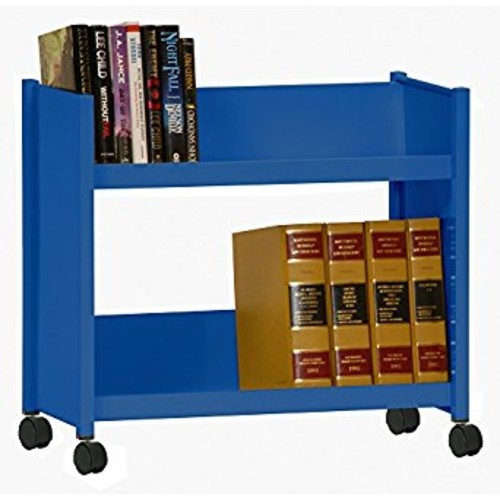 Sandusky Lee SR227-06 Sloped Shelf Welded Bookcase, 14