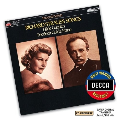 Most Wanted Recitals!:Richard Strauss Songs