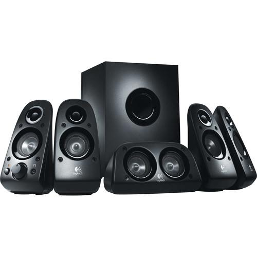 Logitech Z506 Surround Sound Home Theater Speaker System [Speaker]