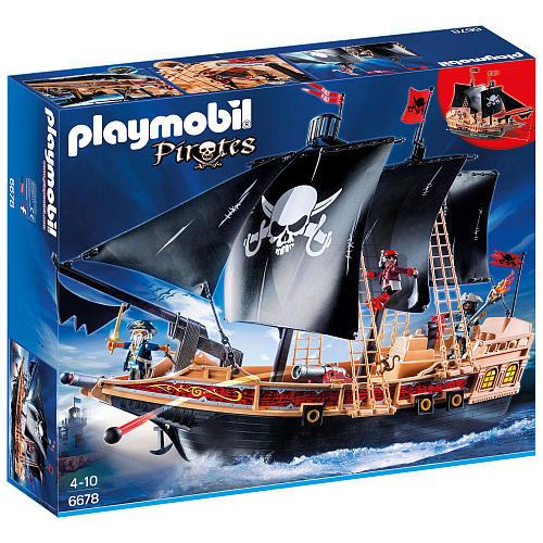 Playmobil Pirate Raiders Ship Building Set