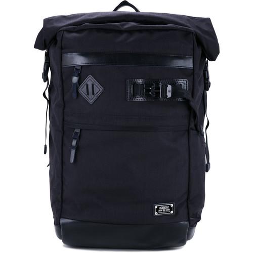 Ballistic nylon roll backpack