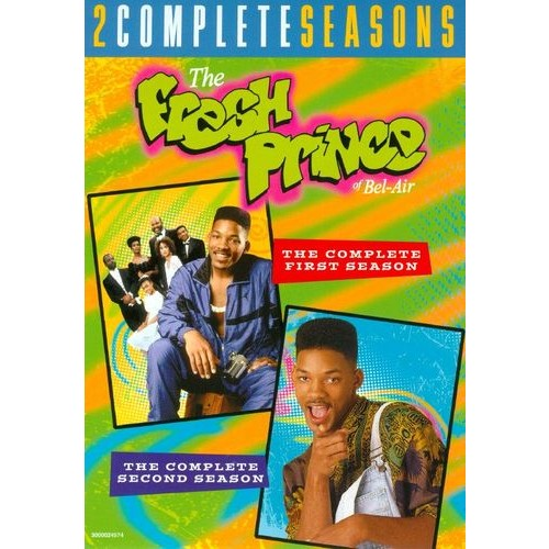The Fresh Prince of Bel-Air: The Complete First and Second Seasons [8 Discs] [DVD]