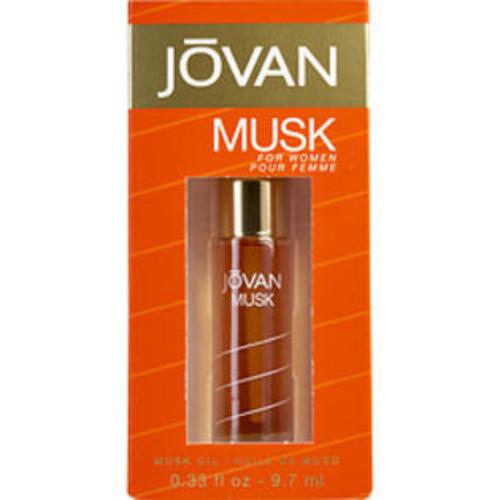 Jovan Musk PERFUME OIL .33 OZ JOVAN MUSK for WOMEN
