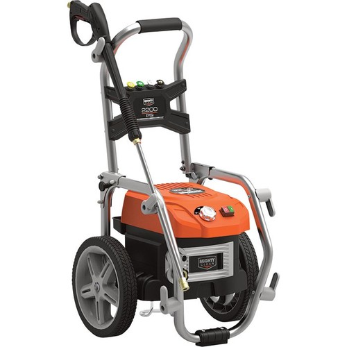 Mighty Clean Electric Cold Water Pressure Washer  2200 PSI, 1.3 GPM, 120 Volt,