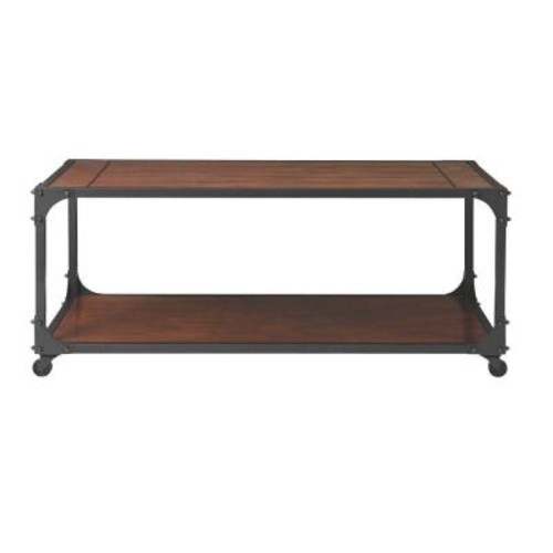 Home Decorators Collection Industrial Empire Black Coffee Table