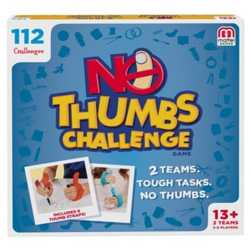 No Thumbs Challenge Game