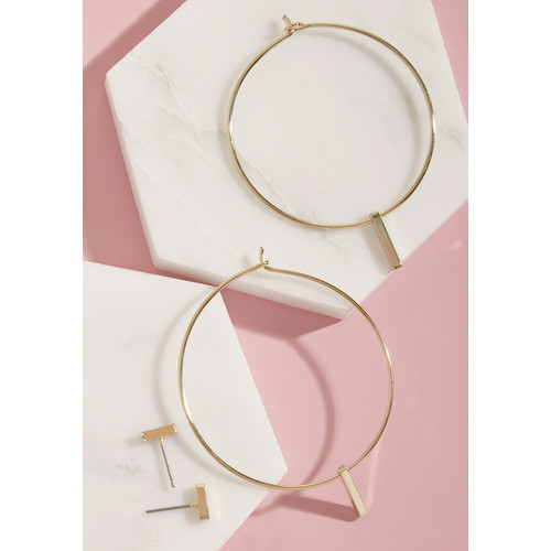 Must-Have Minimalism Earring Set