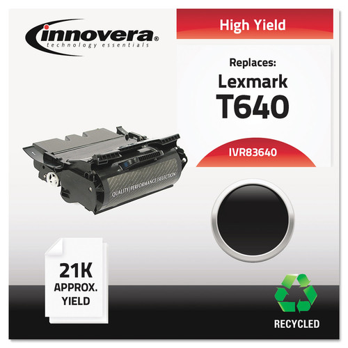Innovera Remanufactured 64015HA (T640) High-Yield Toner Black