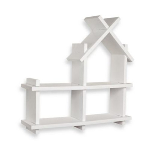 Danya B. House Design Floating Shelf in White