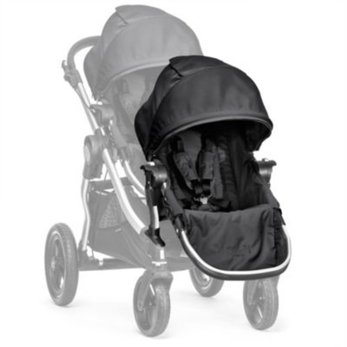 Baby Jogger City Select Silver Frame Second Seat Kit in Onyx