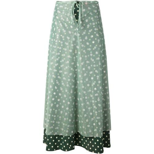 JEAN PAUL GAULTIER VINTAGE Layered Polka Dot Skirt
