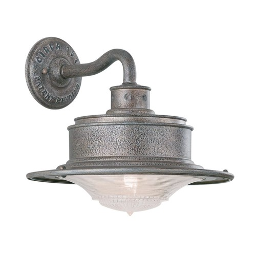 South Street Outdoor Wall Light [Finish : Old Galvanized]