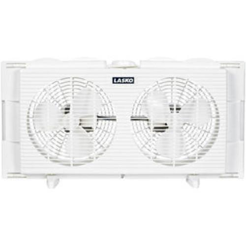 Lasko Products Lasko 2137 7-inch 2-speed Twin Window Fan