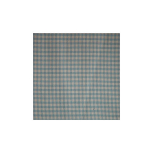 Blue Sky and White Gingham Checks Curtain Panels