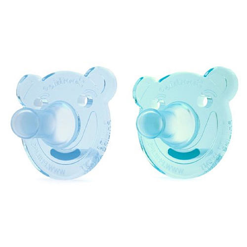 Philips Avent 0-3 Months 2 Pack BPA Free Bear Soothie - Boy