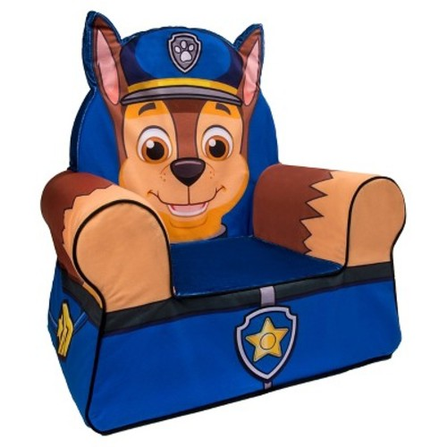Nickelodeon Paw Patrol Comfy Character Chair - Chase