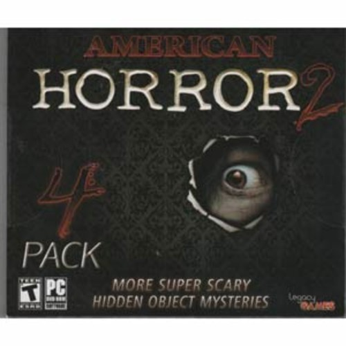 American Horror Volume 2 Hidden Object 4 PACK