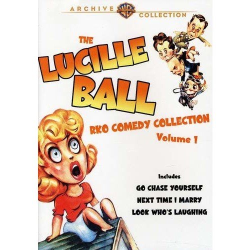 Lucille Ball RKO Comedy Collection Volume 1 (2 Disc): Lucille Ball: Movies & TV