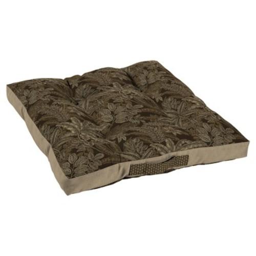 Palmetto Espresso Oversize Floor Cushion - Bombay Outdoors