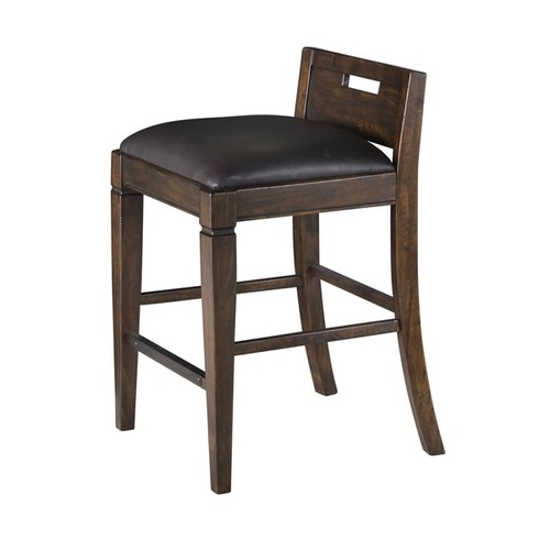 Magnussen Home Furnishings Office & Conference Room Chairs Magnussen Pine Hill Rustic Pine Counter-height Chair