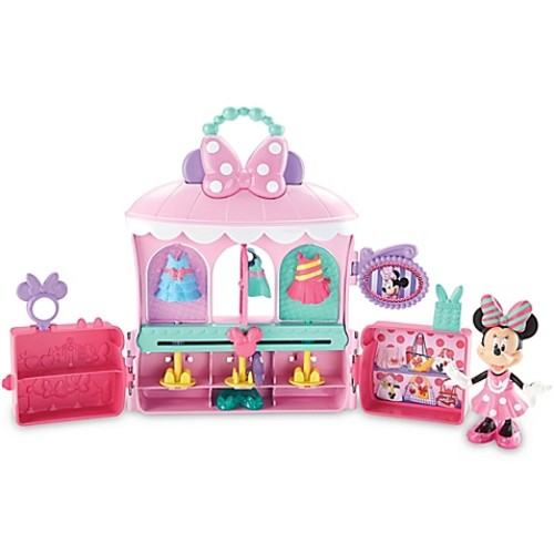 Fisher-Price Minnie Mouse Sparkle 'N Spin Fashion Bow-tique
