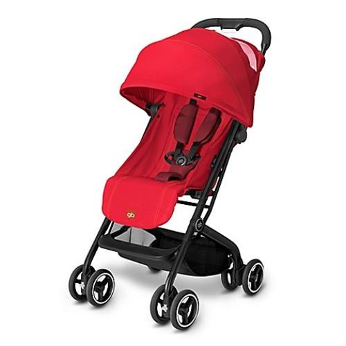 GB Qbit Travel Stroller in Dragonfire Red