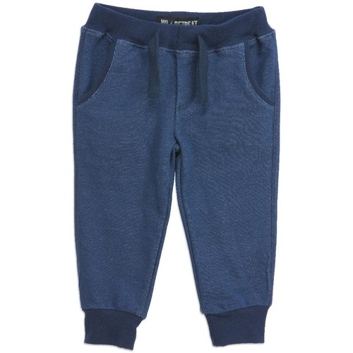 No Retreat Navy Jogger Pant - Infant/Toddler