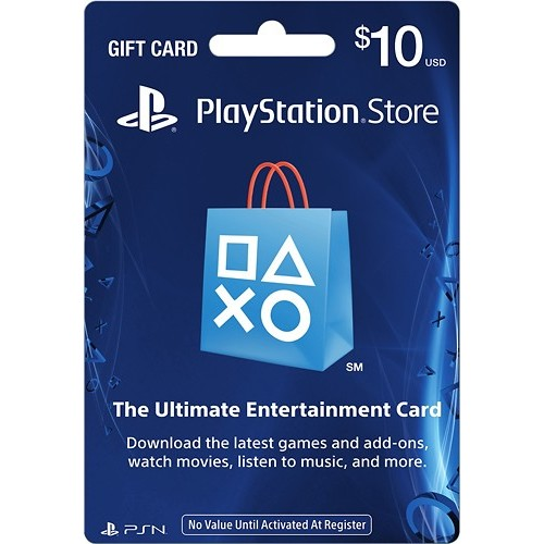 Sony - $10 PlayStation Network Card