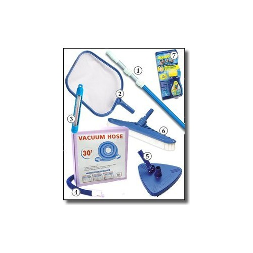 Blue Wave NA390 Standard Maintenance Kit for Above Ground Pools : Pool Skimmer : Garden & Outdoor