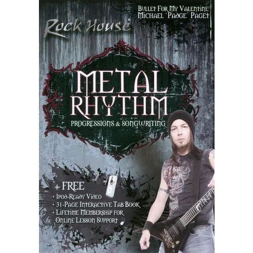 The Rock House Method: Michael Paget - Metal Rhythm [DVD] [2011]