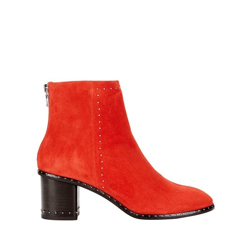 RAG & BONE Willow Studded Suede Booties