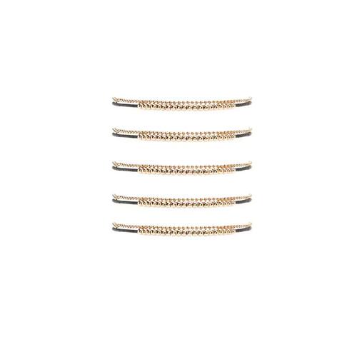 Ball Chain Thread Bracelet Set