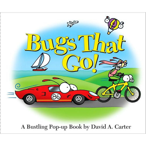 Bugs That Go! (enhanced eBook edition): A Bustling Pop-up Book