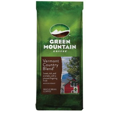Green Mountain Coffee Vermont Blend Whole Bean Bagged Coffee