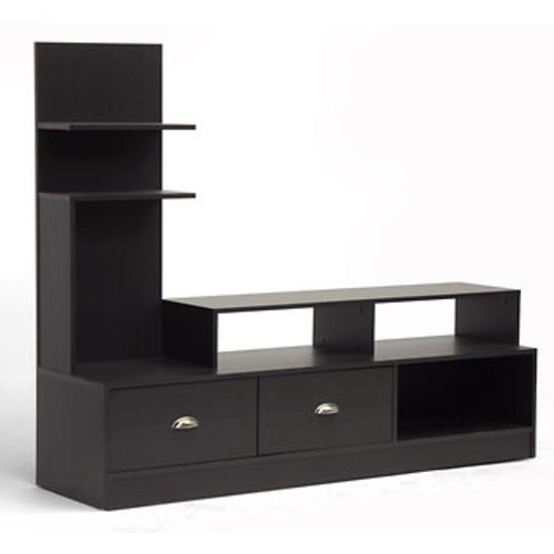Baxton Studio Armstrong TV Stand - Espresso