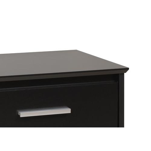 Prepac Black Coal Harbor 6 Drawer Dresser