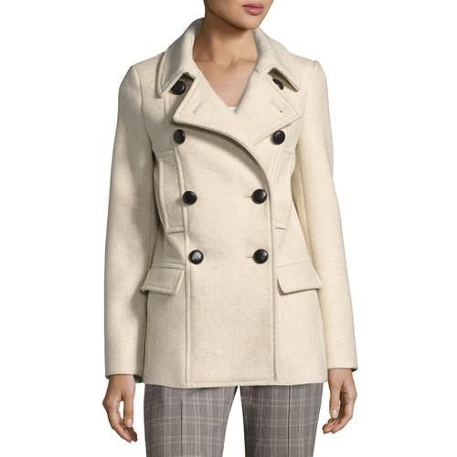 ETOILE ISABEL MARANT Floffy Double-Breasted Pea Coat