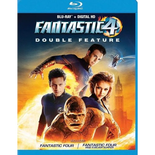 Fantastic Four Double Feature [Blu-ray]