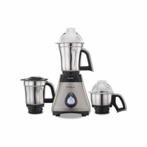 Preethi Steel Mixer Grinder w/ Turbo Vent and Improved Couplers