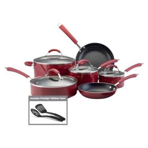 Farberware Millennium Non-Stick Cookware Set - Red