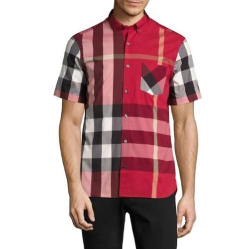 BURBERRY Thornaby Check Short Sleeve Shirt