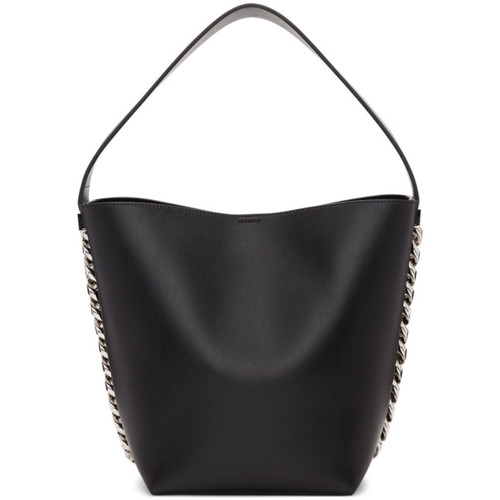 Black Infinity Bucket Bag