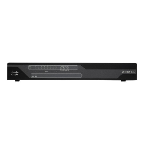 Cisco 891F - Router - ISDN/Mdm - 8-port switch - GigE - rack-mountable - refurbished
