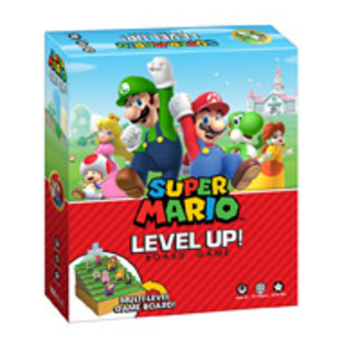 Super Mario Level Up! Board Game