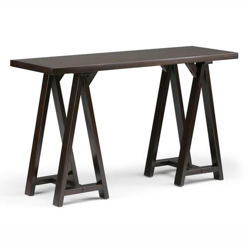 Simpli Home Sawhorse Console Table