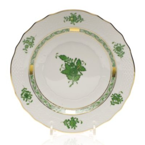 Chinese Bouquet Salad Plate, Green