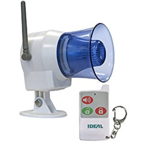 Ideal Security Inc. SK626 Wireless Indoor-Outdoor Siren with Remote Control