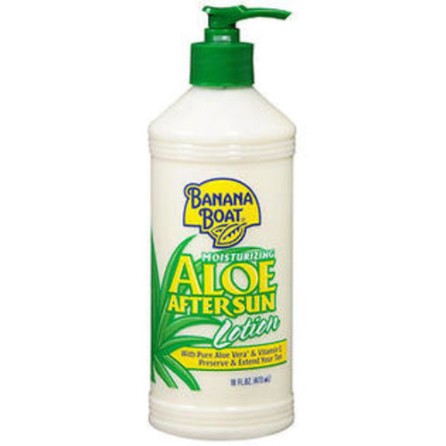 Banana Boat Aloe After Sun Lotion - 16 oz, Pack of 2