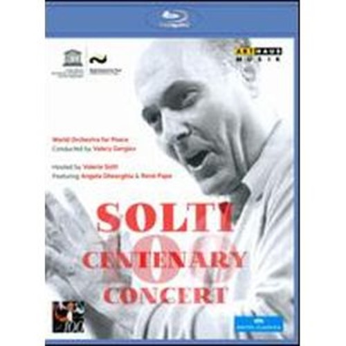 World Orchestra for Peace: Solti Centenary Concert [Blu-ray]